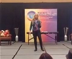 Click to watch Melissa Joys Video From The Inaugural M-Joy Of Being (Women) Seminar